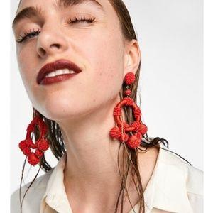 Matching Beads Earrings
